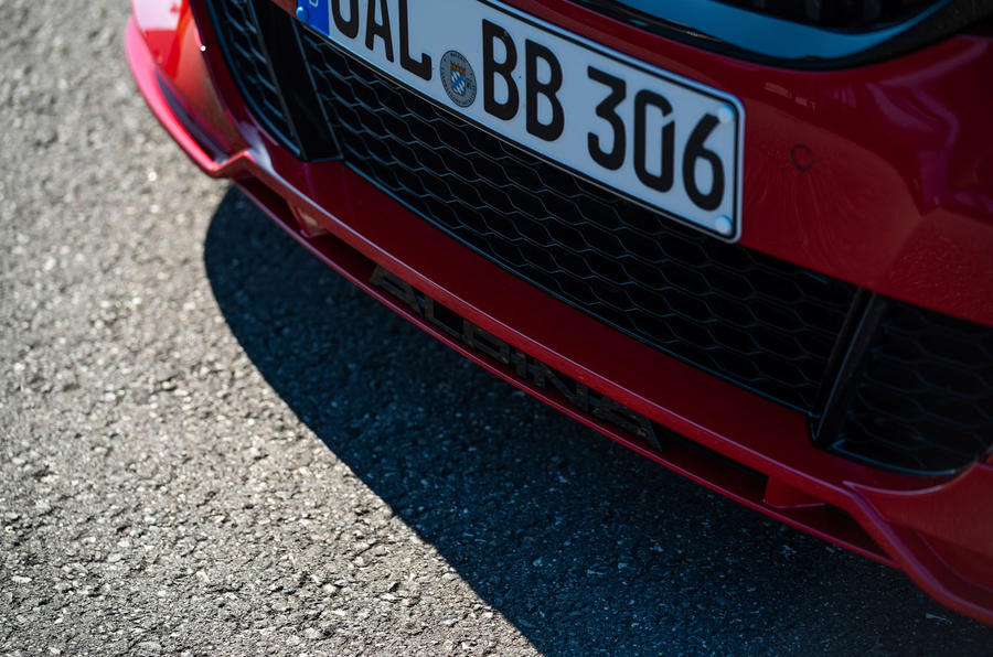 Alpina B3 2020 road test review - bumper