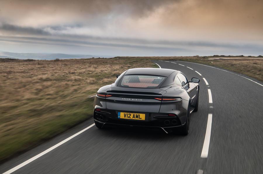 Aston Martin Dbs Superleggera Rt Hero Rear