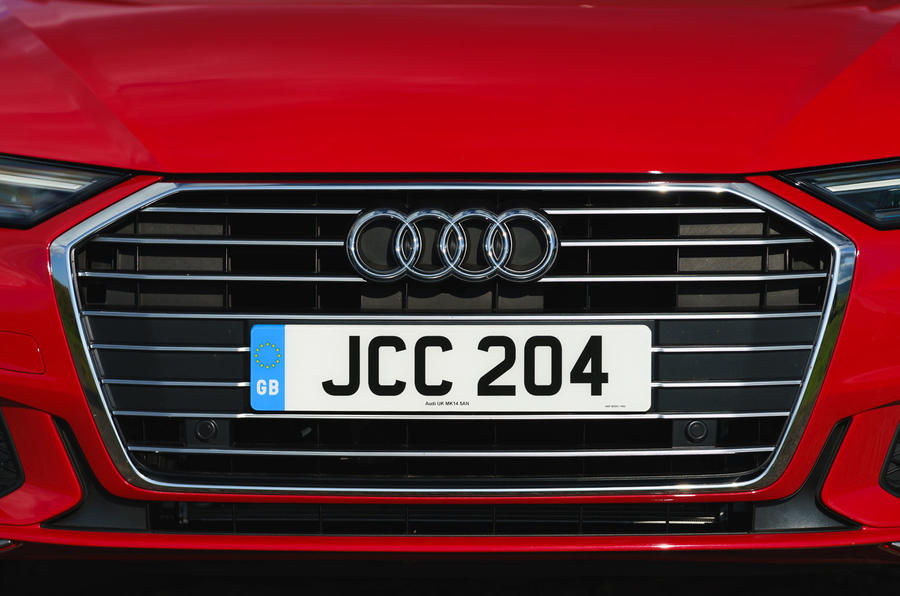 Audi A6 2019 road test review - front grille