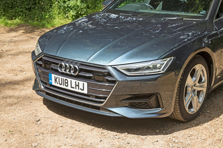 Audi A7 Sportback 2018 road test review front end