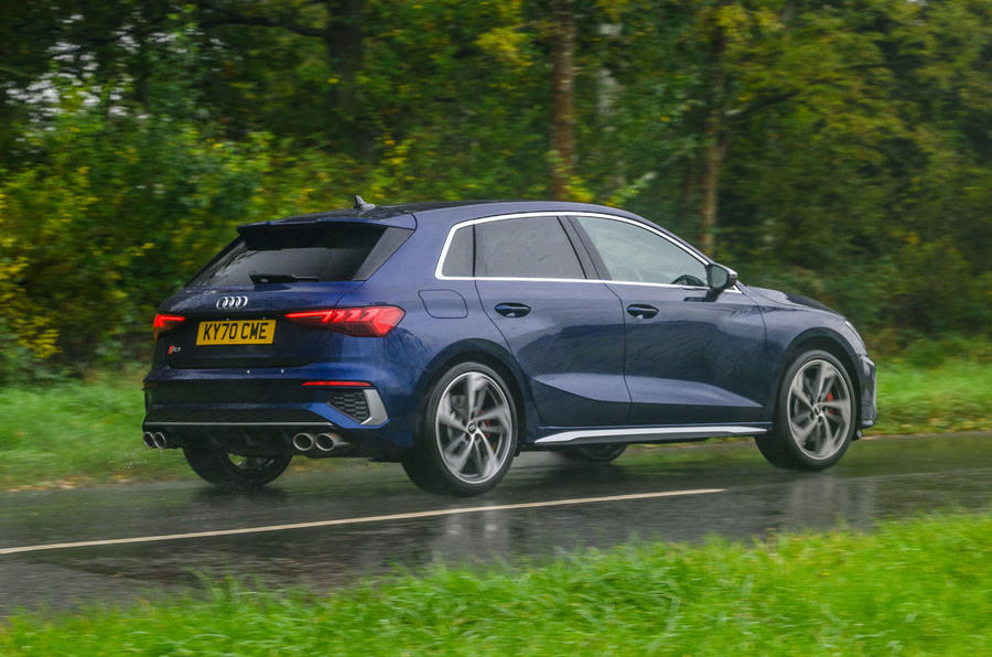 Audi S3 Sportback 2020 road test review - hero rear