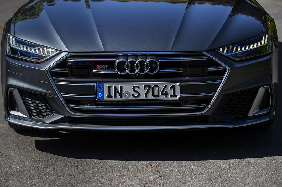 Audi S7 Sportback TDI 2020 road test review - front end