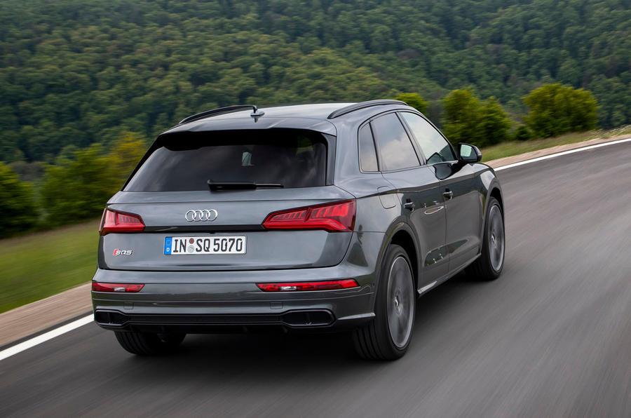 Audi SQ5 TDI 2020 road test review - hero rear