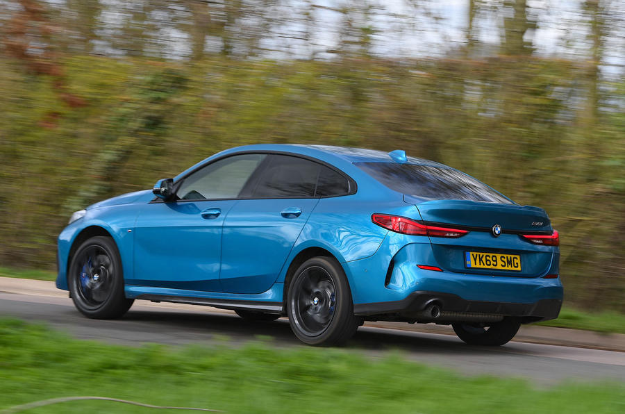 BMW 2 Series Gran Coupe 2020 road test review - hero rear
