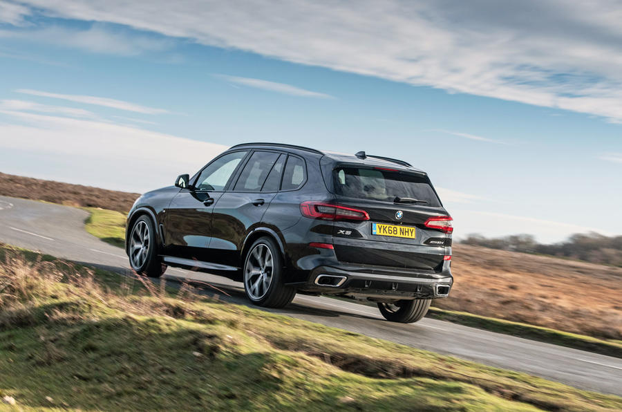 BMW X5 2018 road test review - hero rear