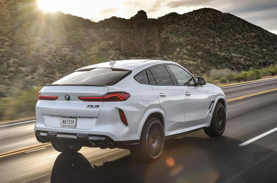 BMW X6 M Competition 2020 : examen de l'essai routier - le héros à l'arrière