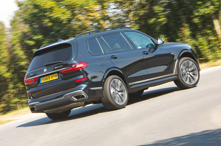 BMW X7 2020 road test review - hero rear