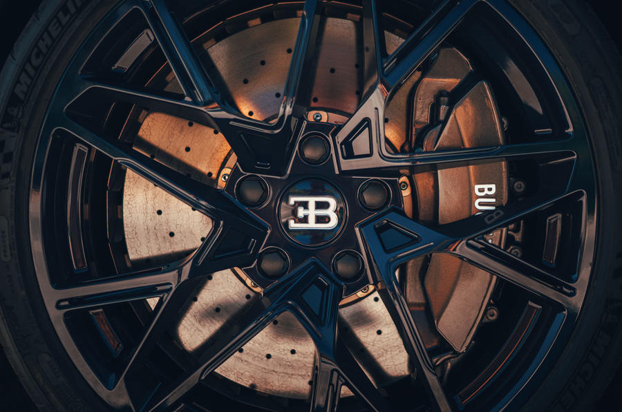 Bugatti Divo 2020 road test review - alloy wheels