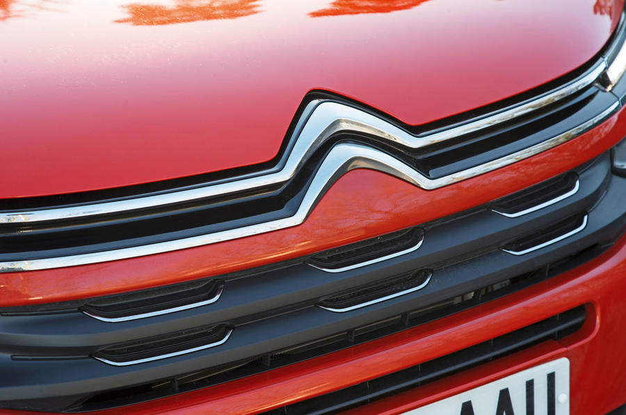 Citroen C5 Aircross 2019 road test review - front grille
