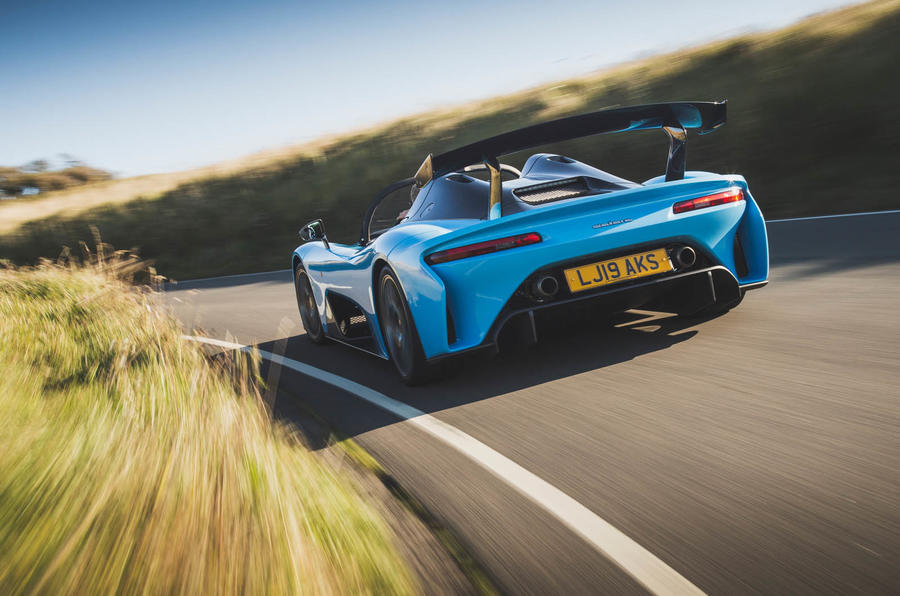 Dallara Stradale 2019 road test review - hero rear