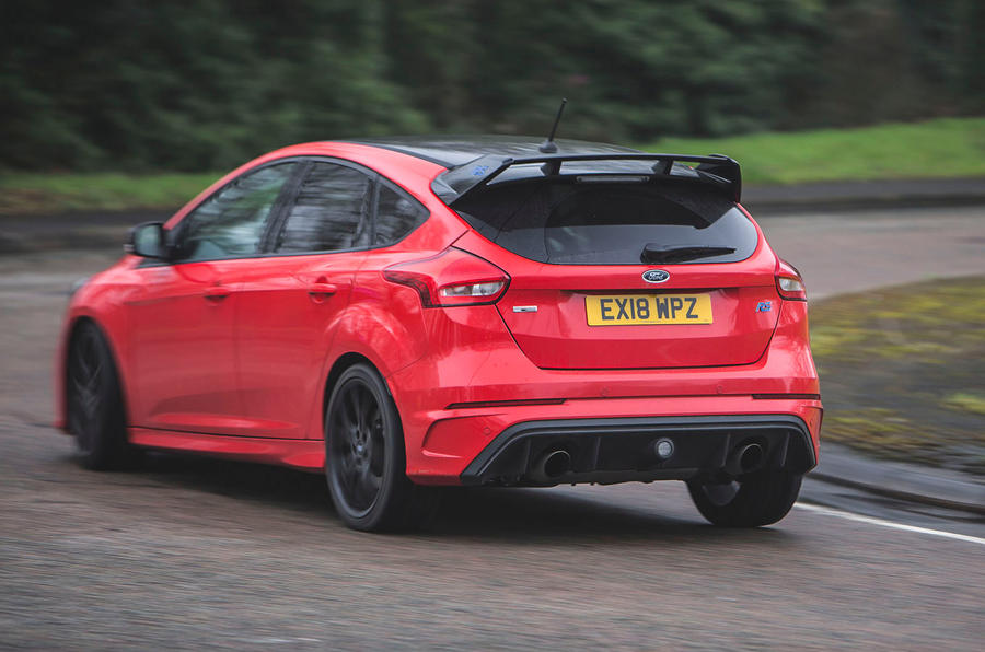 Ford Focus RS 2019 road test review - hero rear