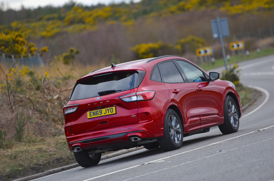 Ford Kuga 2020 road test review - hero rear
