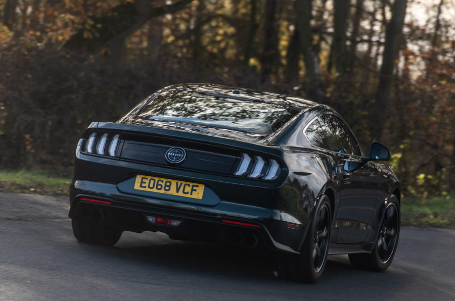 Ford Mustang Bullitt 2018 road test review - hero rear