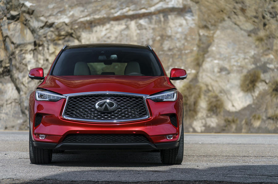 Infiniti QX50 2018 review - grille
