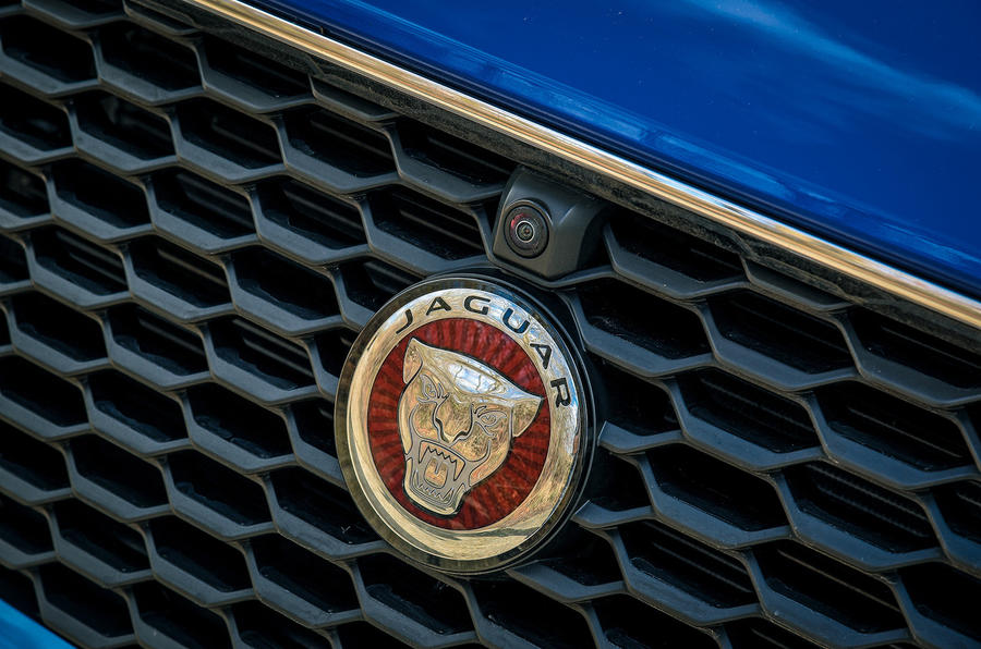 Jaguar E-Pace review bonnet badge