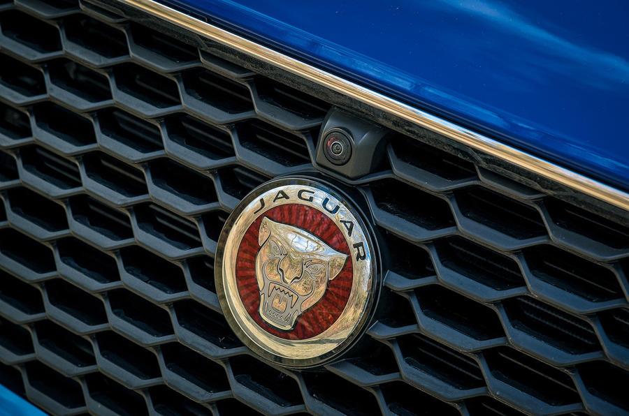 Jaguar E-Pace review bonnet badge