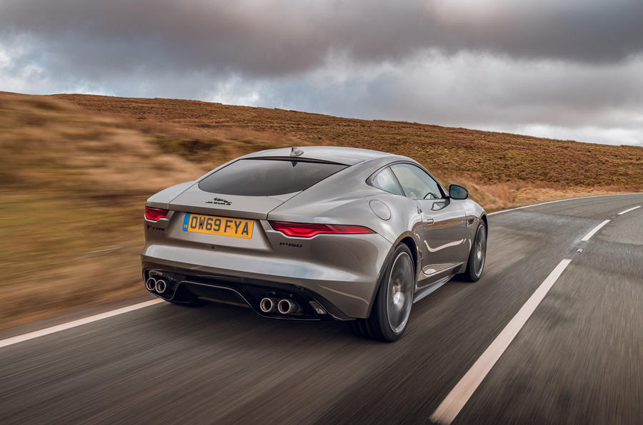 Jaguar F-Type 2020 road test review - hero rear