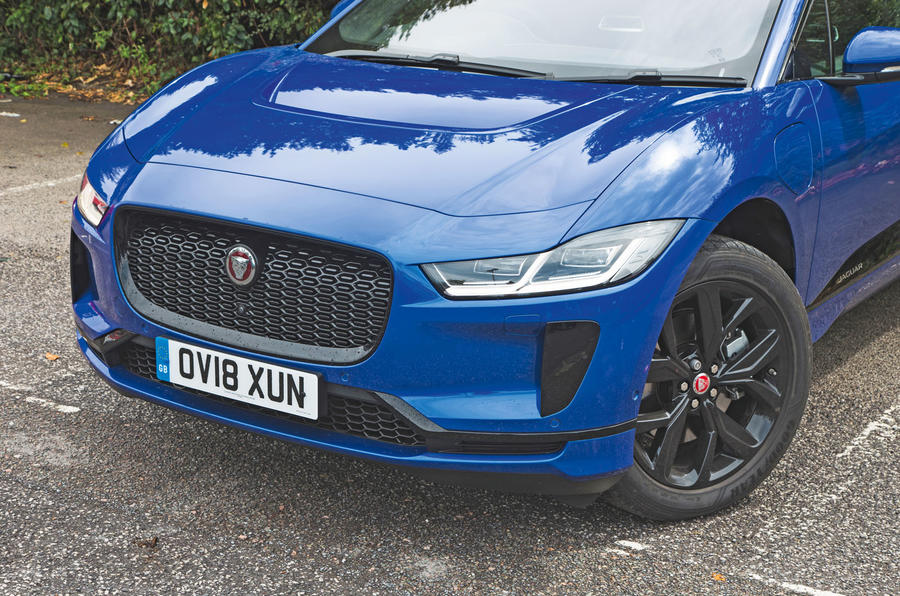 Jaguar I-Pace 2018 road test review front end
