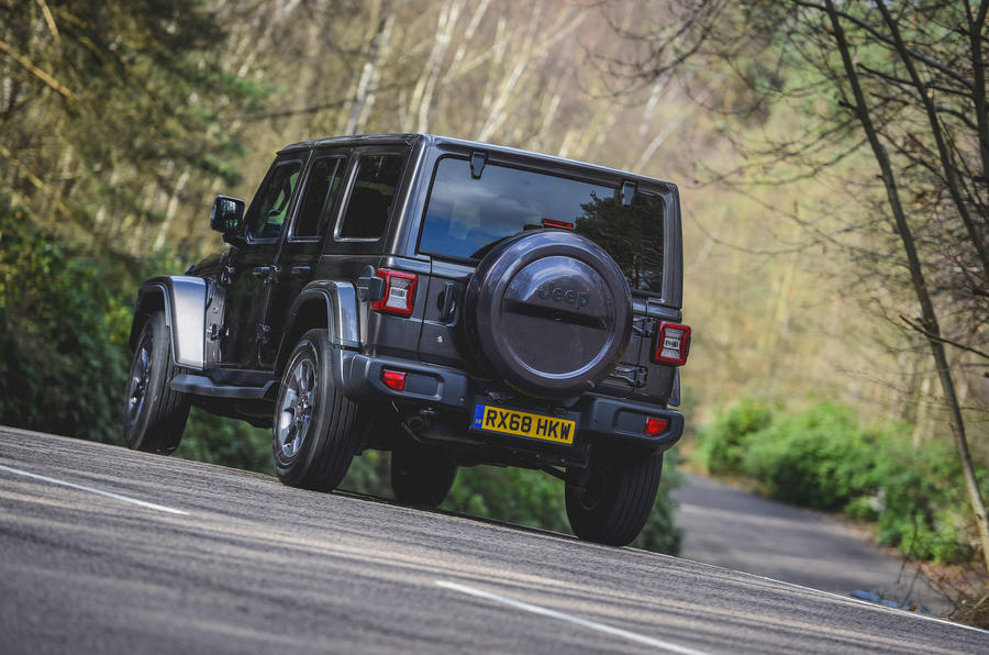 Jeep Wrangler 2019 road test review - hero rear