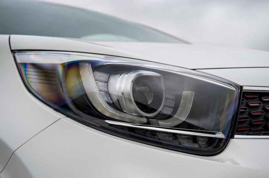 Kia Picanto review headlights