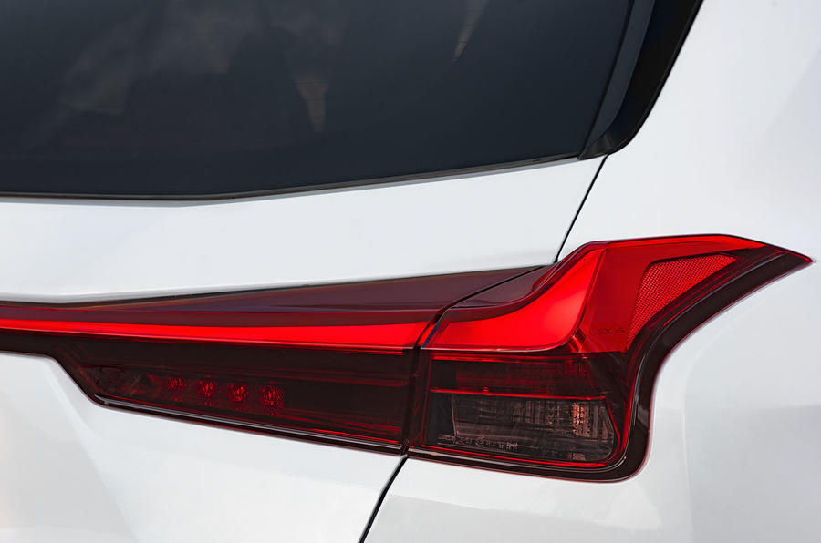 Lexus UX 2019 road test review - rear lights