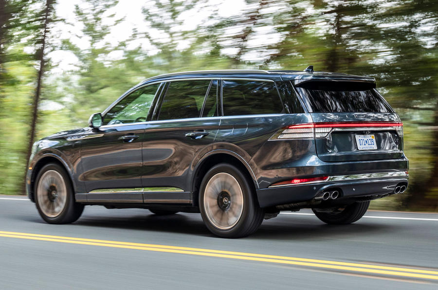Lincoln Aviator 2020 road test review - hero rear