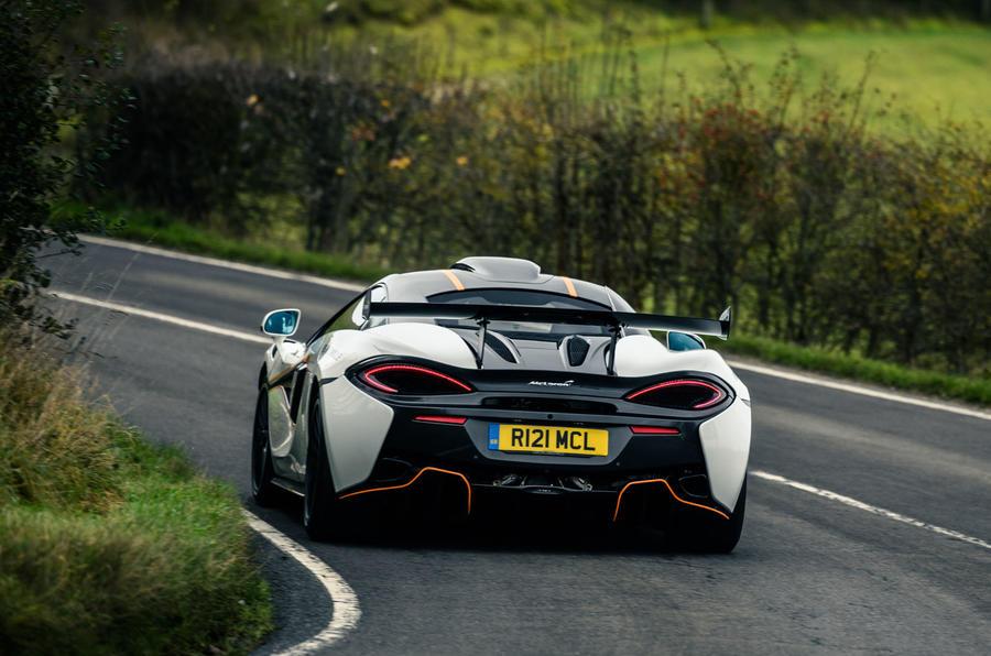 3 McLaren 620R 2021 road test review hero rear