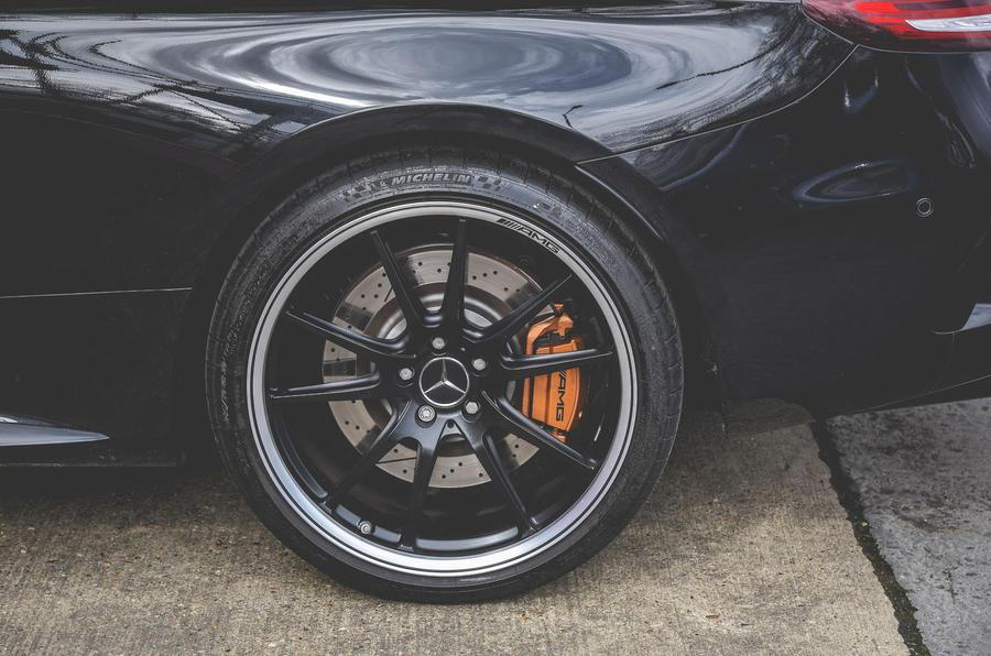 Mercedes-AMG C63 Coupé 2019 road test review - alloy wheels