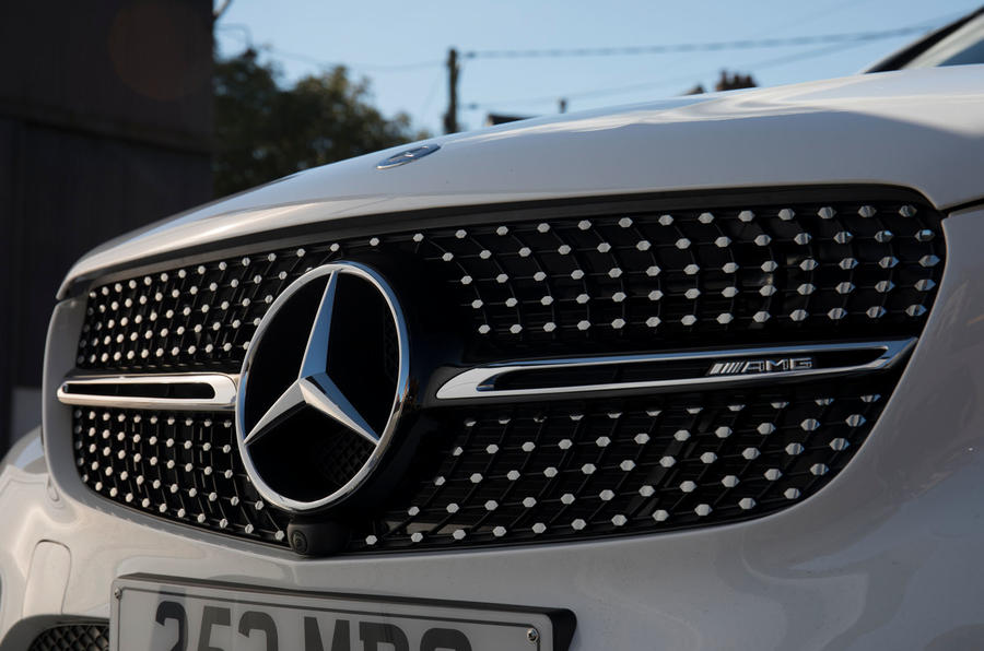 Mercedes-AMG GLC 43 road test review - front grille