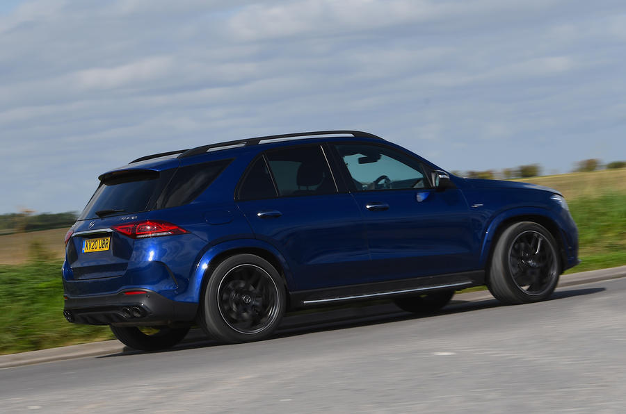 Mercedes-AMG GLE 53 2020 road test review - hero rear