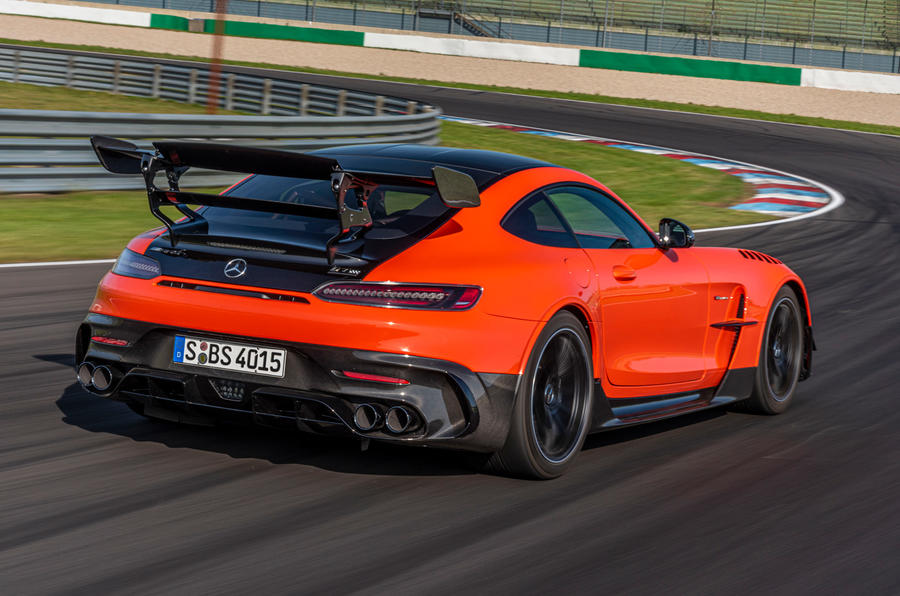 Mercedes-AMG GT Black Series road test review - hero rear