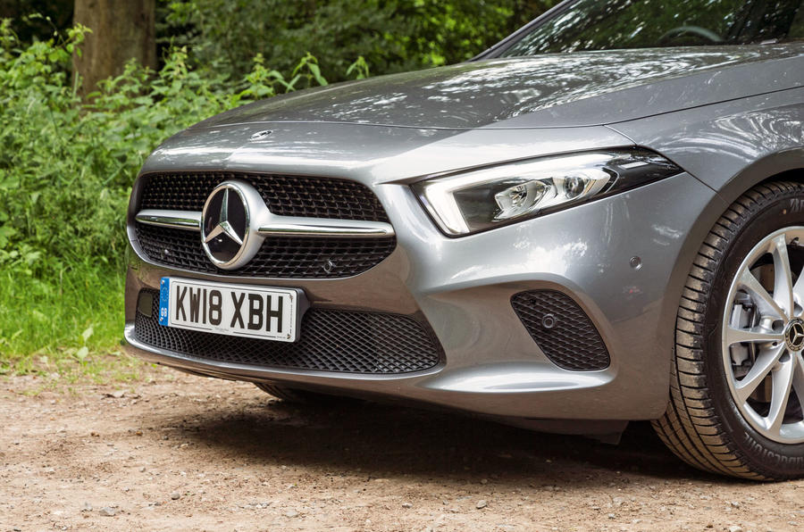 Mercedes-Benz A-Class 2018 road test review front end