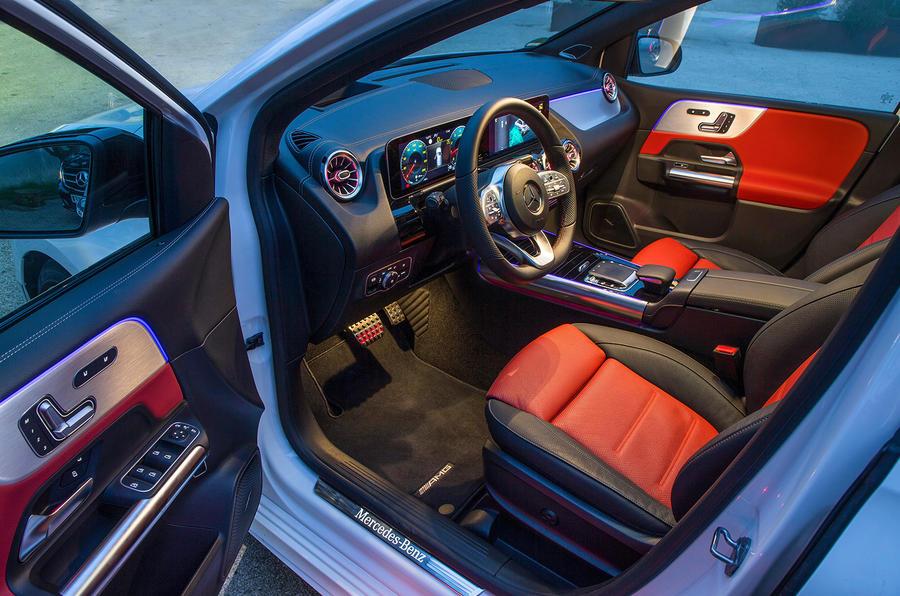 Mercedes-Benz B-Class review - cabin