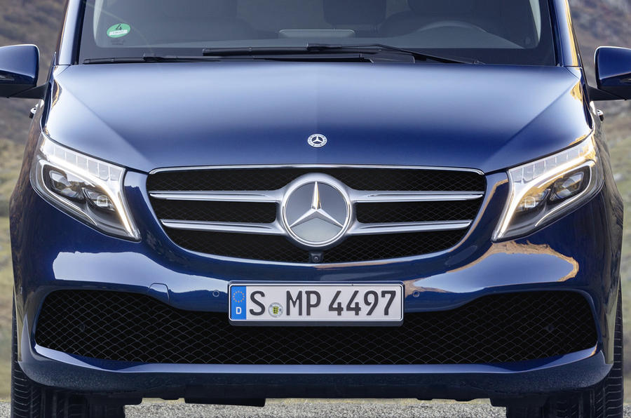 Mercedes-Benz Marco Polo 2019 road test review - front end
