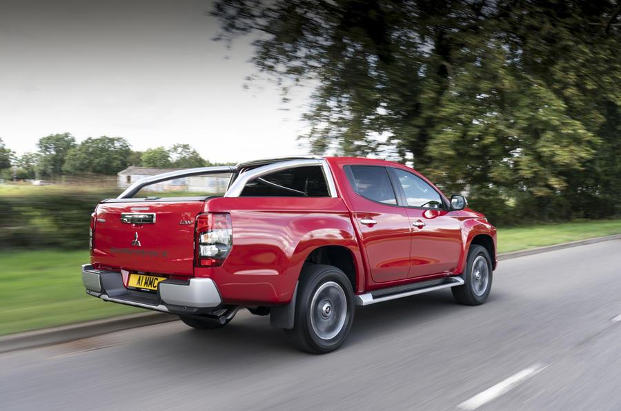 Mitsubishi L200 2019 road test review - hero rear