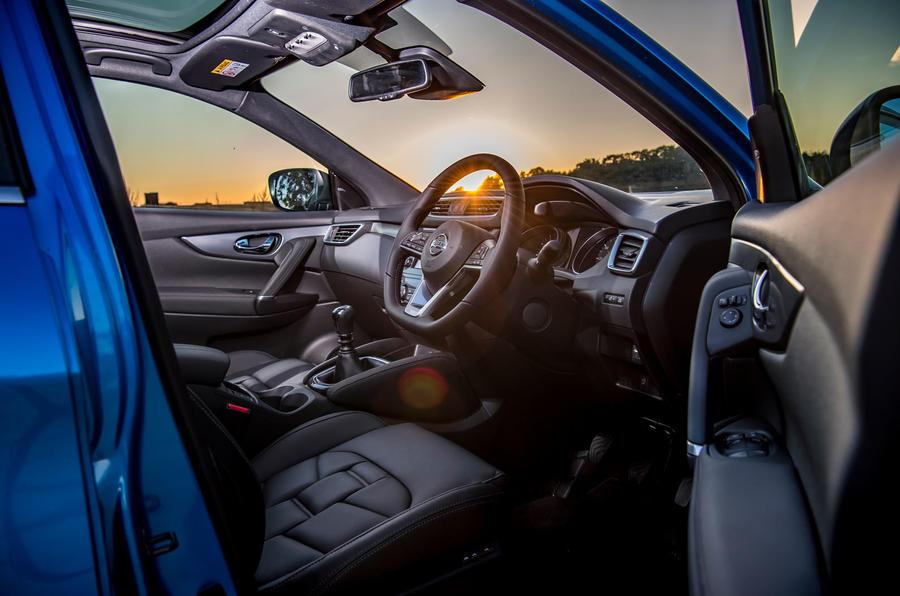 Nissan Qashqai interior | Autocar
