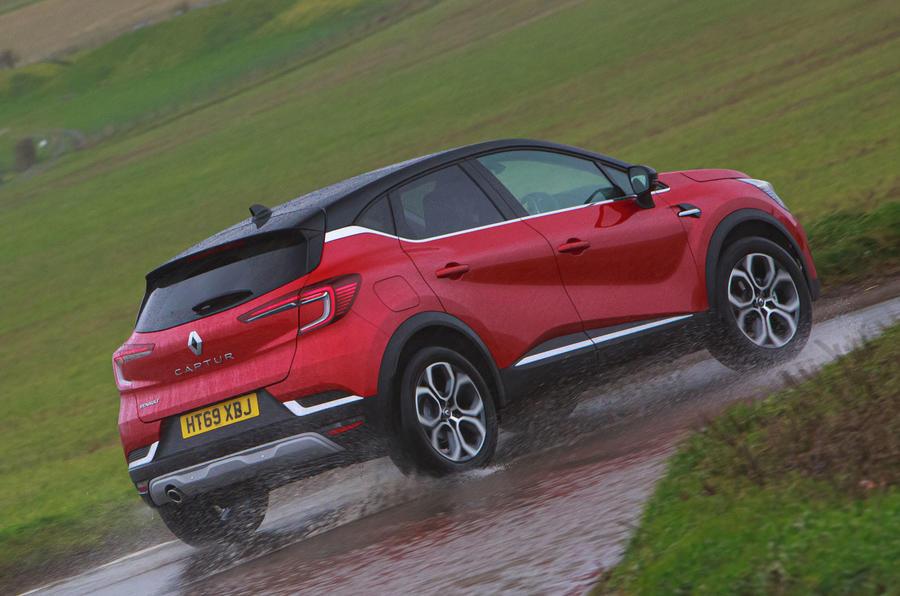 Renault Captur 2020 road test review - hero rear