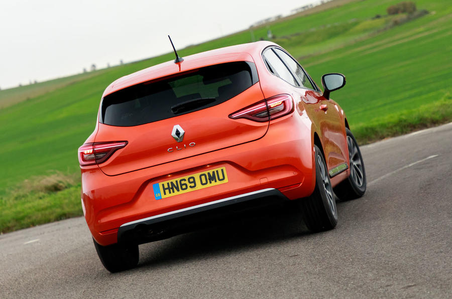Renault Clio 2019 road test review - hero rear