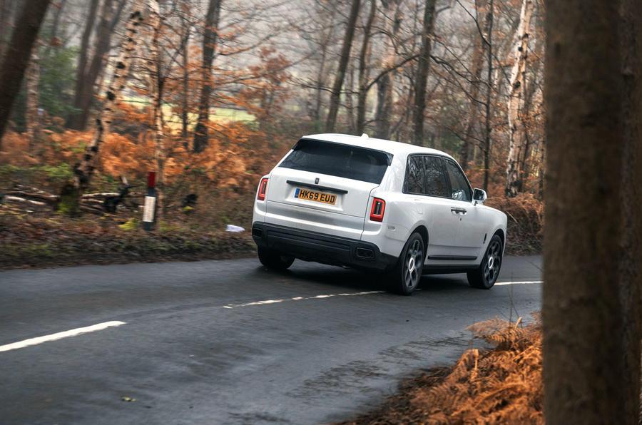 Rolls Royce Cullinan 2020 road test review - hero rear