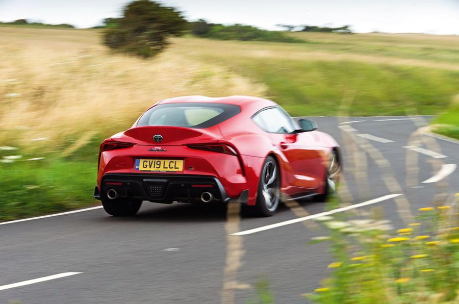 Toyota GR Supra 2019 road test review - hero rear
