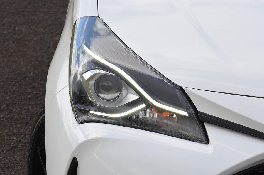 Toyota Yaris GRMN headlights