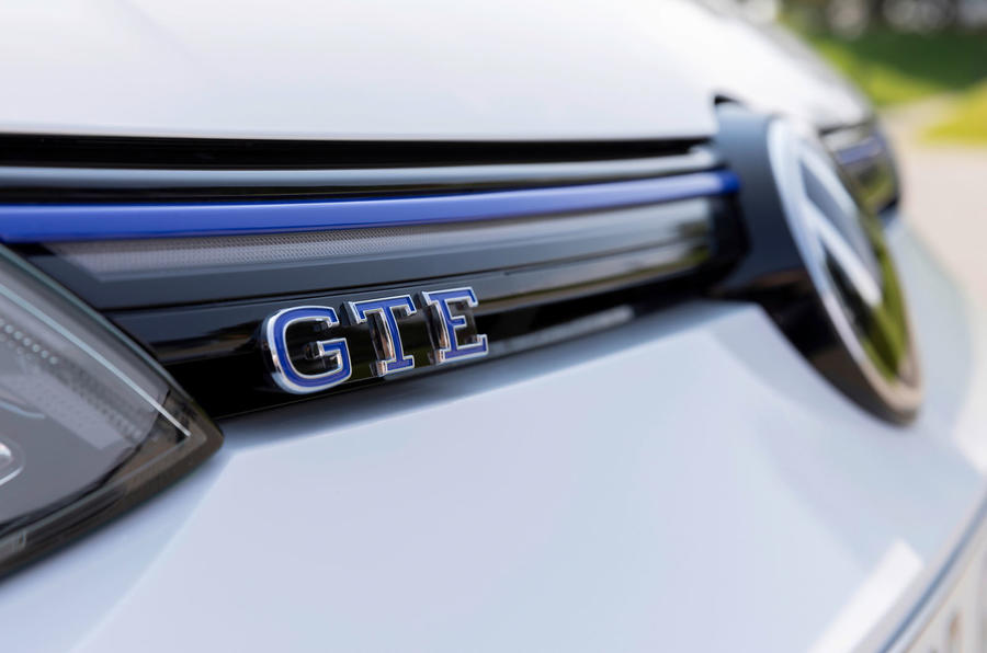 Volkswagen Golf GTE 2020 road test review - nose