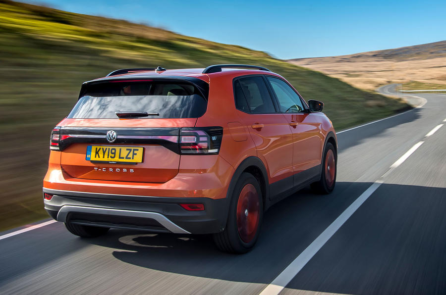 Volkswagen T-Cross 2019 review - hero rear