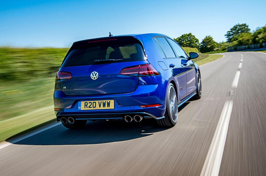 Volkswagen Golf R 2019 road test review - hero rear