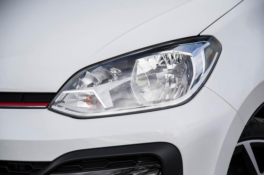 Volkswagen Up GTI 2018 review headlights