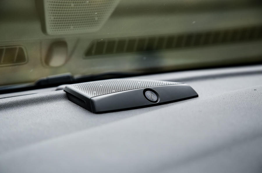 Ford Fiesta ST 2018 road test review dashboard speaker