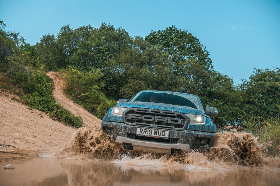 Ford Ranger Raptor 2019 road test review - wading nose