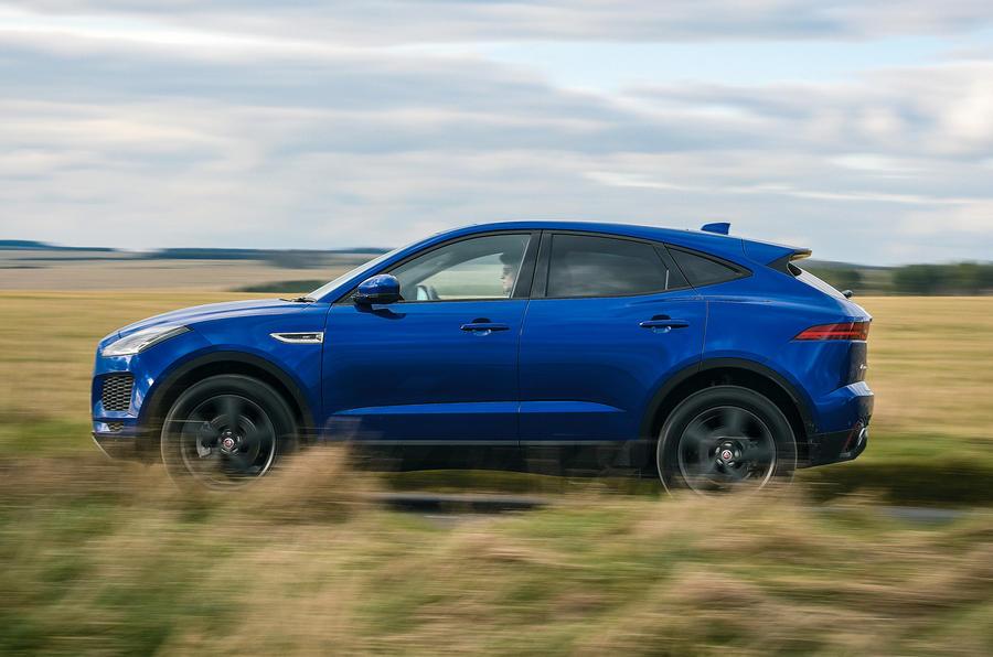 Jaguar E-Pace review side profile