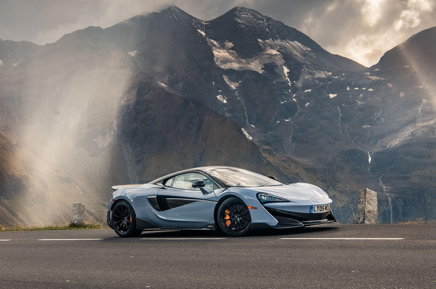 McLaren 600LT 2018 review - static hero