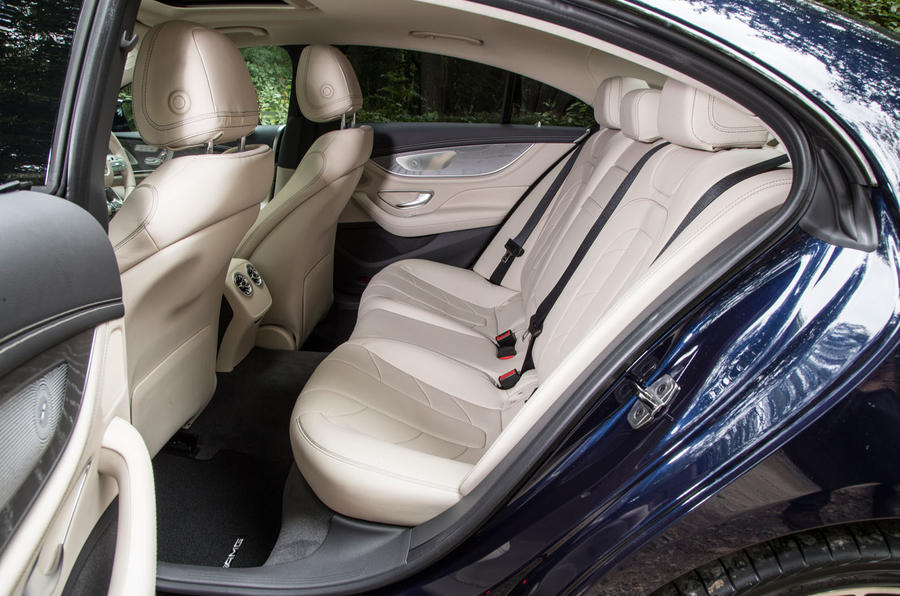 Mercedes-AMG CLS 53 2018 road test review - rear seats